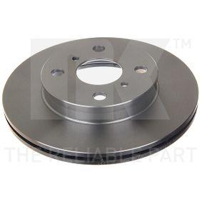 Disque de frein Epaisseur du disque de frein: 18,00mm, Jante: 4,00Trou, Ø: 238mm avec OEM numéro 4351216130