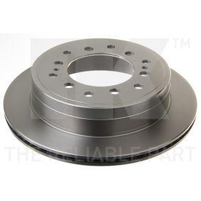 Disque de frein Épaisseur du disque de frein: 18mm, Jante: 6Trou, Ø: 312mm avec OEM numéro 4243160270