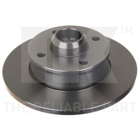 Bremsscheibe Bremsscheibendicke: 10mm, Felge: 4-loch, Ø: 226mm mit OEM-Nummer 191 501 639 A