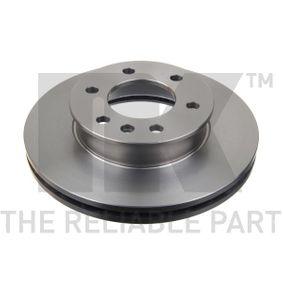 Bremsscheibe Bremsscheibendicke: 28mm, Felge: 6-loch, Ø: 300mm mit OEM-Nummer A906 421 02 12