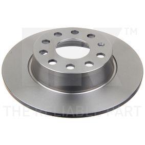 Bremsscheibe Bremsscheibendicke: 10mm, Felge: 5-loch, Ø: 272mm mit OEM-Nummer 8P0098601P