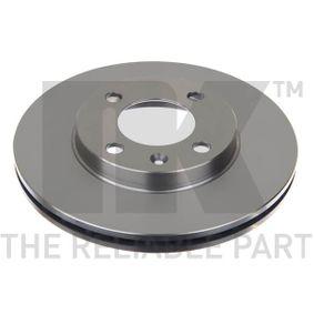 Bremsscheibe Bremsscheibendicke: 20mm, Felge: 4-loch, Ø: 239mm mit OEM-Nummer 321 615 301C
