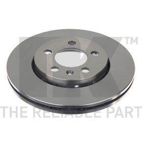 Bremsscheibe Bremsscheibendicke: 22mm, Felge: 5-loch, Ø: 256mm mit OEM-Nummer JZW698302CB