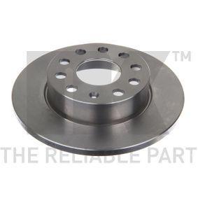 Bremsscheibe Bremsscheibendicke: 12mm, Felge: 5-loch, Ø: 256mm mit OEM-Nummer 8P0098601N