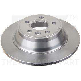 Bremsscheibe Bremsscheibendicke: 12,00mm, Felge: 5,00-loch, Ø: 302mm mit OEM-Nummer 30 769 058