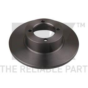 Bremsscheibe Bremsscheibendicke: 11mm, Felge: 4-loch, Ø: 237mm mit OEM-Nummer 900 65903