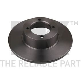 Bremsscheibe Bremsscheibendicke: 11mm, Felge: 4-loch, Ø: 237mm mit OEM-Nummer 569018