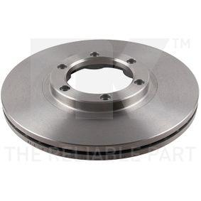 Bremsscheibe Bremsscheibendicke: 22,00mm, Felge: 6,00-loch, Ø: 257mm mit OEM-Nummer 8-94372-435-0