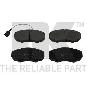 Комплект спирачно феродо, дискови спирачки Артикул № 221947 370,00BGN