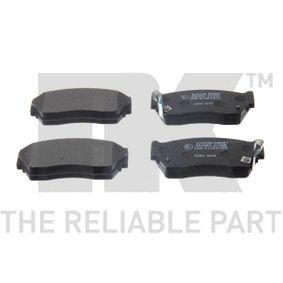 Bremsbelagsatz, Scheibenbremse Breite 1: 108,50mm, Höhe 1: 48,00mm, Dicke/Stärke 1: 16,50mm mit OEM-Nummer 4106063C90