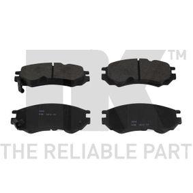Bremsbelagsatz, Scheibenbremse Breite 1: 127,70mm, Höhe 1: 51,80mm, Dicke/Stärke 1: 14,90mm mit OEM-Nummer D1060 0N685