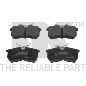 Brake Pad Set, disc brake Width 1: 87,2mm, Height 1: 42,5mm, Thickness 1: 14,5mm with OEM Number 1107698