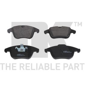 2011 Ford Mondeo Mk4 Facelift 2.2 TDCi Brake Pad Set, disc brake 222568