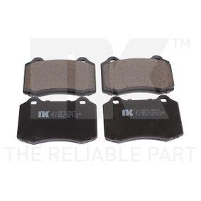 Bremsbelagsatz, Scheibenbremse Breite 1: 110mm, Höhe 1: 69,1mm, Dicke/Stärke 1: 17,7mm mit OEM-Nummer MXD-2750-AA