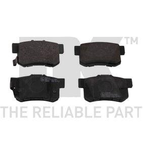 Brake Pad Set, disc brake Width 1: 88,8mm, Width 2 [mm]: 88,8mm, Height 1: 47,4mm, Height 2: 47,4mm, Thickness 1: 14,6mm, Thickness 2: 14,6mm with OEM Number 43022-S9A-E52