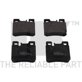 Bremsbelagsatz, Scheibenbremse Breite 1: 61,7mm, Höhe 1: 58,2mm, Dicke/Stärke 1: 15,3mm mit OEM-Nummer 0014209520