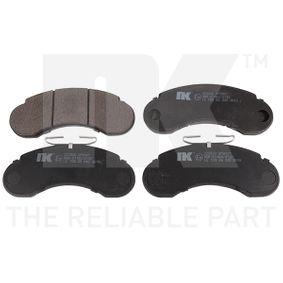 NK  223320 Bremsbelagsatz, Scheibenbremse Dicke/Stärke 1: 14,00mm