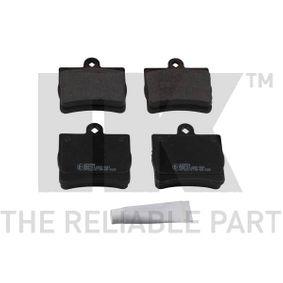 Bremsbelagsatz, Scheibenbremse Breite 1: 63,6mm, Höhe 1: 63,2mm, Dicke/Stärke 1: 14,2mm mit OEM-Nummer A0024205120