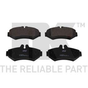 NK  223338 Bremsbelagsatz, Scheibenbremse Breite 1: 125,70mm, Höhe 1: 62,00mm, Dicke/Stärke 1: 17,80mm