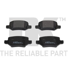 Brake Pad Set, disc brake Width 1: 95,7mm, Height 1: 41,7mm, Thickness 1: 14,3mm with OEM Number A1684200420