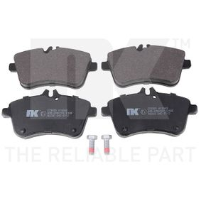 Brake Pad Set, disc brake Width 1: 131,7mm, Height 1: 70,2mm, Thickness 1: 18,5mm with OEM Number A 169 420 01 20