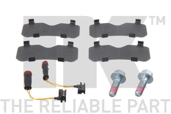 Bremsbelagsatz NK 223363 Bewertung