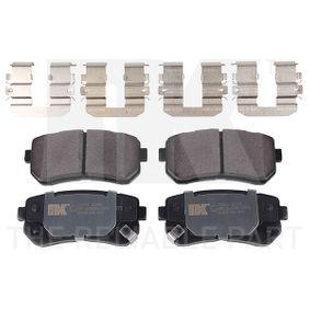 2009 KIA Ceed ED 1.6 CRDi 90 Brake Pad Set, disc brake 223521