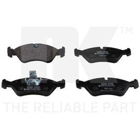 Bremsbelagsatz, Scheibenbremse Breite 1: 156,6mm, Höhe 1: 52,4mm, Dicke/Stärke 1: 17,5mm mit OEM-Nummer 1605808