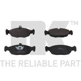 Комплект спирачно феродо, дискови спирачки 223614 Corsa B Хечбек (S93) 1.4i 16V (F08, F68, M68) Г.П. 1996