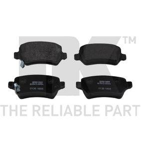 Brake Pad Set, disc brake 223625 Astra Mk5 (H) (A04) 1.7 CDTi MY 2005