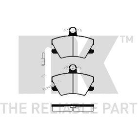 Bremsbelagsatz, Scheibenbremse Breite 1: 89,90mm, Höhe 1: 66,00mm, Dicke/Stärke 1: 14,50mm mit OEM-Nummer 7701205 411
