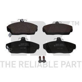 Brake Pad Set, disc brake Width 1: 129,4mm, Width 2 [mm]: 129,4mm, Height 1: 68,2mm, Height 2: 68,2mm, Thickness 1: 17,5mm, Thickness 2: 17,5mm with OEM Number 45022SK3E00