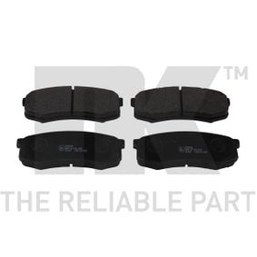 Bremsbelagsatz, Scheibenbremse Breite 1: 116,30mm, Höhe 1: 44,10mm, Dicke/Stärke 1: 15,50mm mit OEM-Nummer 4605A-389