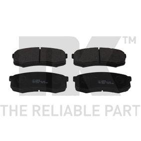 Bremsbelagsatz, Scheibenbremse Breite 1: 116,30mm, Höhe 1: 44,10mm, Dicke/Stärke 1: 15,50mm mit OEM-Nummer 0446660140