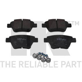 Bremsbelagsatz, Scheibenbremse Breite 1: 109,3mm, Höhe 1: 53,5mm, Dicke/Stärke 1: 16,9mm mit OEM-Nummer 5K0 698 451A