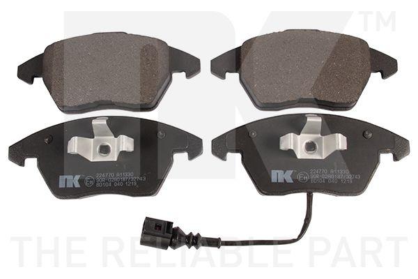 Bremseklosser 224770 NK WVA23587203 av original kvalitet