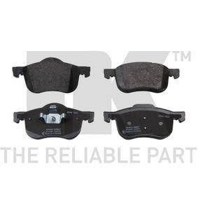 Brake Pad Set, disc brake Width 1: 155,3mm, Width 2 [mm]: 156,6mm, Height 1: 72,3mm, Height 2: 68,9mm, Thickness 1: 18,6mm, Thickness 2: 18,6mm with OEM Number 31262506