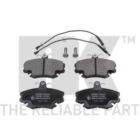 2003 Twingo c06 1.2 Brake Pad Set, disc brake 229957