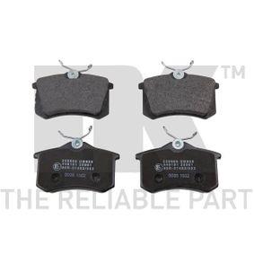 Brake Pad Set, disc brake 229986 MEGANE 2 (BM0/1, CM0/1) 1.9 dCi MY 2006