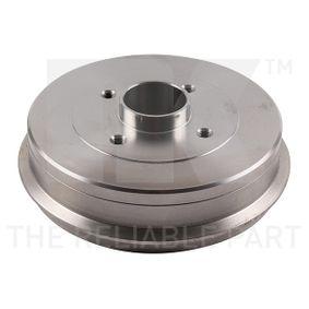 Bremstrommel 253929 TWINGO 2 (CN0) 1.2 16V Bj 2010