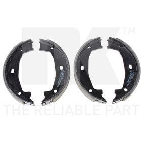 Brake Shoe Set, parking brake Ø: 160mm, Width: 20mm, Ø: 160mm with OEM Number 34 41 6 761 291