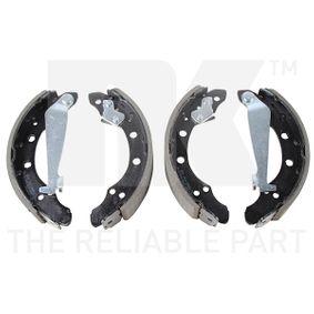 Jogo de maxilas de travão Largura: 40mm com códigos OEM 1H0 609 528D