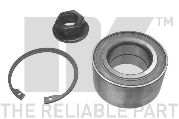 NK  752529 Wheel Bearing Kit Ø: 72mm, Inner Diameter: 39mm