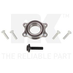 Radlagersatz Innendurchmesser: 61mm mit OEM-Nummer 4H0 498 625 D