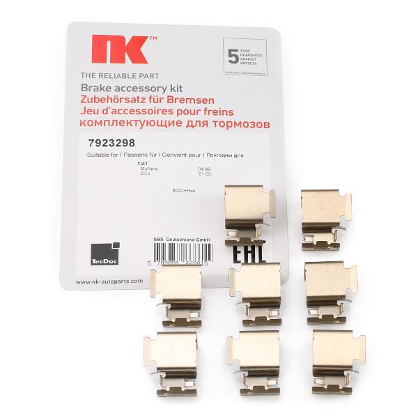 Zubehörsatz, Scheibenbremsbelag 7923298 NK 7923298 in Original Qualität