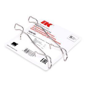 Kit de acessórios, pastilhas de travão para FIAT Brava
