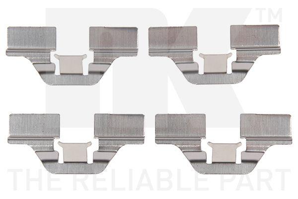 NK  7947211 Kit de accesorios, pastillas de frenos
