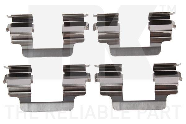 NK  7947610 Kit d'accessoires, plaquette de frein à disque