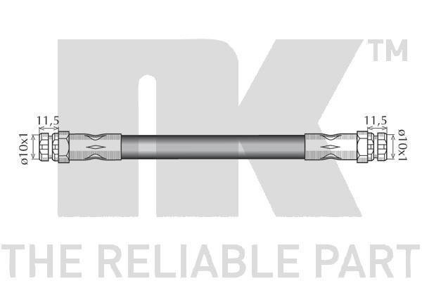 Bremsschlauch NK 8547103 Bewertung