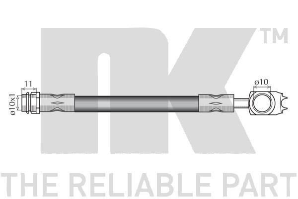 Bremsschlauch NK 854765 Bewertung